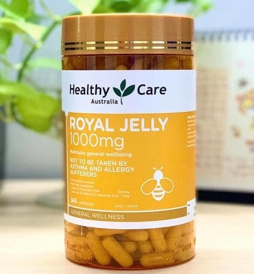 Sữa ong chúa Healthy Care Royal Jelly 1000mg review-3
