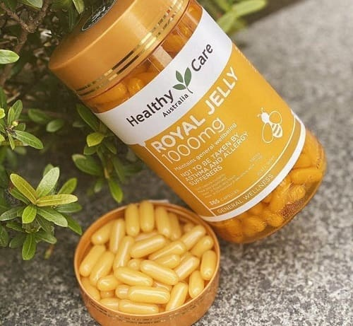 Sữa ong chúa Healthy Care Royal Jelly 1000mg review-5