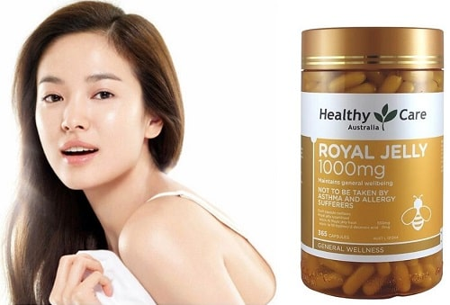 Sữa ong chúa Healthy Care Royal Jelly 1000mg review-6