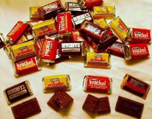 Kẹo chocolate Hershey's Miniatures review-3