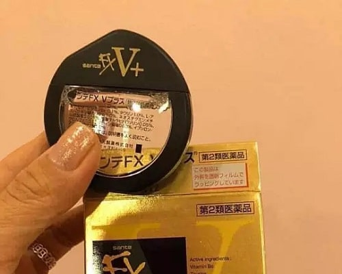 Review thuốc nhỏ mắt Santen FX V+ của Nhật Bản-4