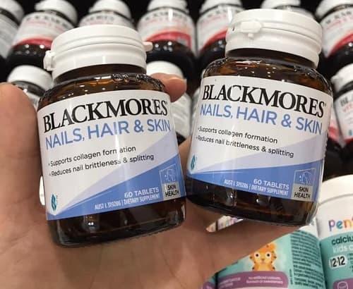 Blackmores Nails Hair Skin 60 tablets có tốt không?-1