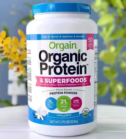 Bột Orgain Organic Protein & Superfoods review-2