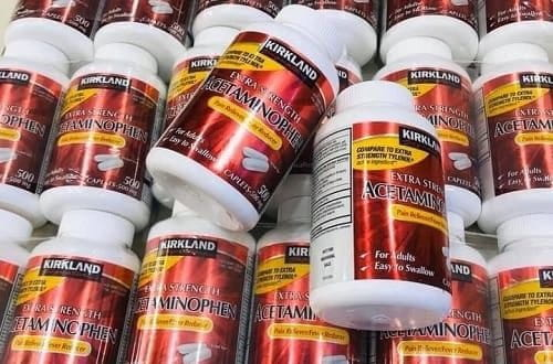 Thuốc Extra Strength Acetaminophen 500mg review-1