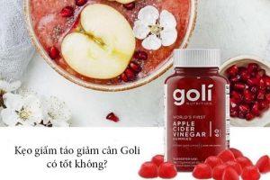 Kẹo giấm táo giảm cân Goli có tốt không?-1