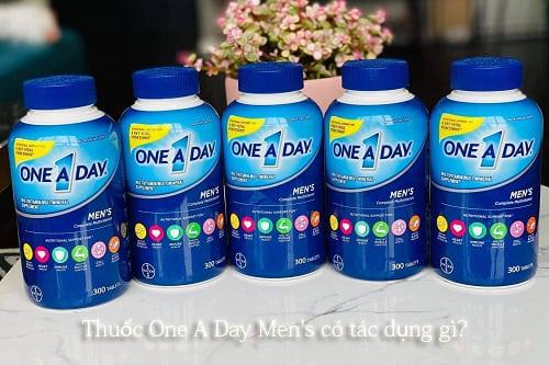 Thuốc One A Day Men's có tác dụng gì?-1