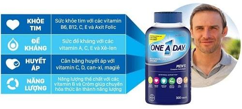 Thuốc One A Day Men's có tác dụng gì?-3