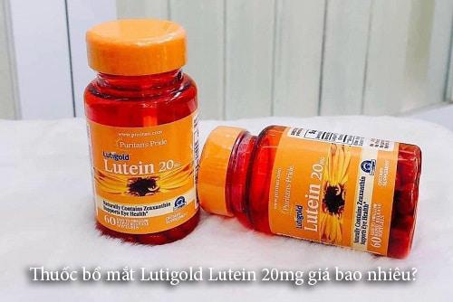 Thuốc bổ mắt Lutigold Lutein 20mg giá bao nhiêu?-1