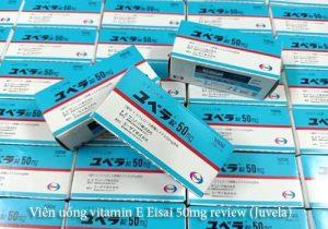 Viên uống vitamin E Eisai 50mg review (Juvela)-1