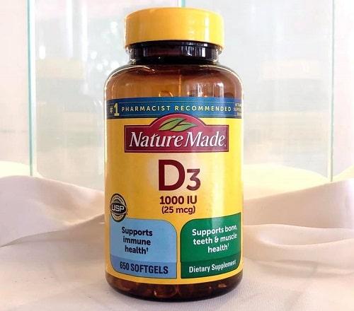 Nature Made D3 25mcg 1000IU giá bao nhiêu?-2