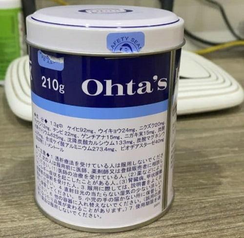 Review thuốc dạ dày Nhật Bản Ohta's Isan dạng bột-3