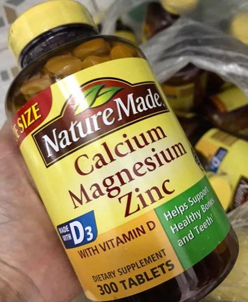 Calcium Magnesium Zinc D3 Nature Made có tốt không?-2