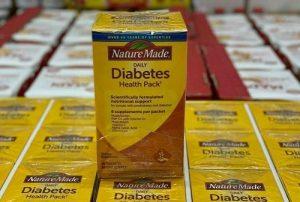 Thuốc tiểu đường Nature Made Diabetes Health Pack review-1