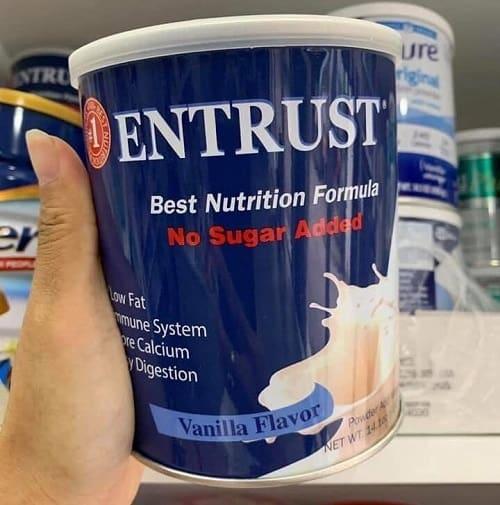 Sữa Entrust không đường có tốt không?-2